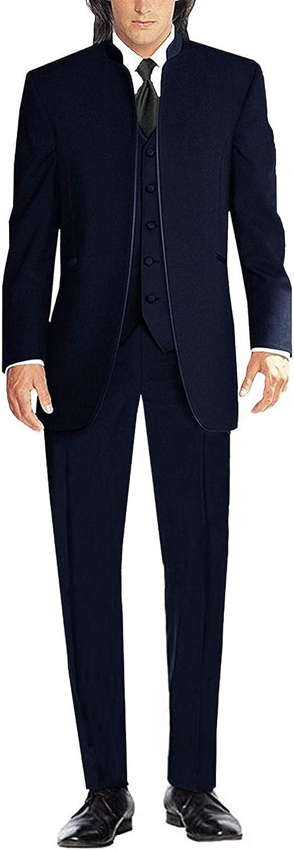 Men's 3 Pieces Suits Slim Fit Collar Blazer Wedding White New specialty shop sales Tuxedo