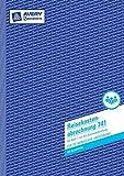 Avery Zweckform 741 Reisekostenabrechnung, DIN A4, für monatliche Abrechnung, 50 Blatt, weiß 3 Stück