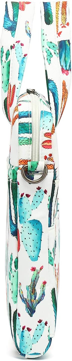 11 inch-13 inch, Cactus Canvaslove Laptop Shoulder Bag With Rebound Bubble Protection