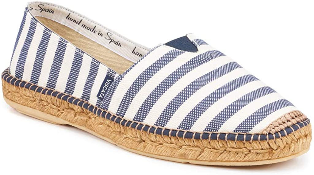 VISCATA Handmade in Spain Mens Barcelona Authentic /& Original Spanish Made Espadrilles with Padded Sole and Elastic Inseam for Extra Comfort and Fit