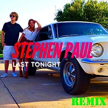 Last Tonight (Remix)