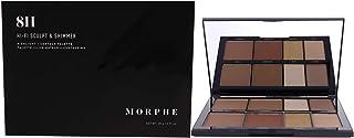 Morphe 8H Lo-Fi Sculpt and Shimmer Palette 0.99 oz