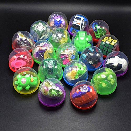 JWBOSS 10 Stück Runde Geschenke Spielzeug Twist Egg Geschenke Kapsel Spielzeug