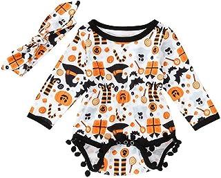 Bébé Fille Ensemble Bebe Garcon Automne et Hiver,Infant Toddler Bébé Garçons Filles Combinaison Romantique Combinaison Cos...