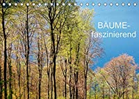 Baeume-faszinierend (Tischkalender 2022 DIN A5 quer): Fotografien von Baeumen zu verschiedenen Jahreszeiten (Monatskalender, 14 Seiten )