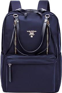 Wolfrealm حقائب ظهر للكمبيوتر المحمول للنساء خفيفة الوزن حقيبة عمل حقيبة ظهر مضادة للماء للسفر حقيبة كمبيوتر محمول أنيقة ل...
