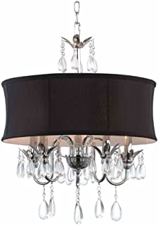 Best black drum shade chandelier Reviews