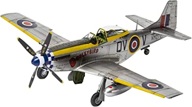 Airfix North American MK IV/P-51K Mustang 1:48 WWII Military Aircraft Plastic Model Kit A05137