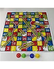 Orm och stege flygschack brädspel jogos juegos oyun familjefest spel leksaker för barn vuxna