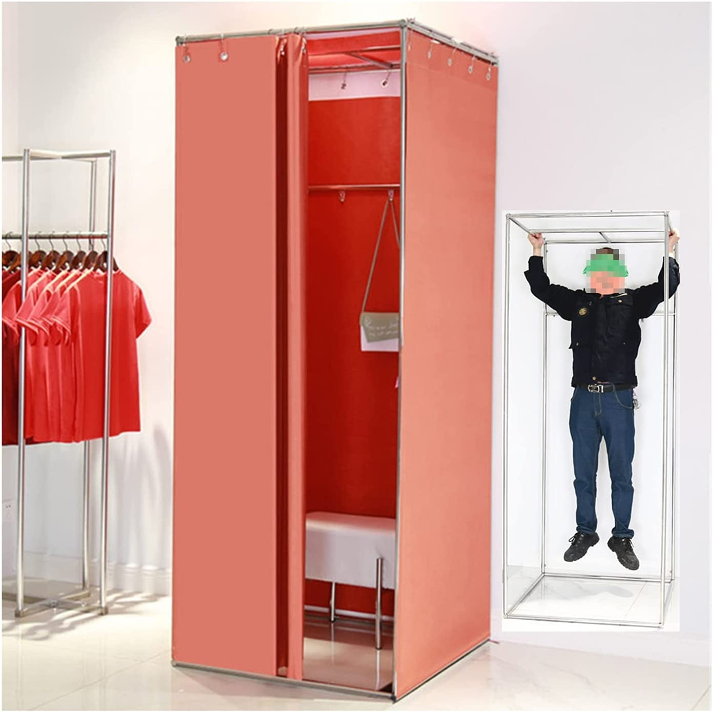 Max 71% OFF Assemble The Camp Bombing free shipping Toilet Changing Privacy Blackout C Screen Room