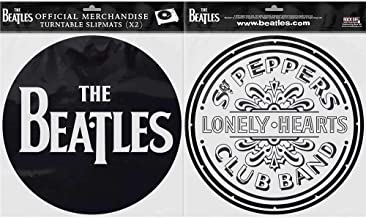 Rock Off Beatles (The): Drop T Logo & SGT Pepper Drum (Tappetino per Giradischi)