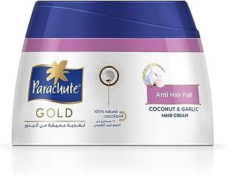 كريم باراشوت جولد لعلاج تساقط الشعر- بالثوم وجوز الهند، كريم مغذي للشعر- 210 غرام