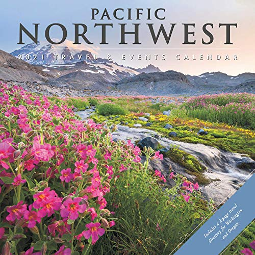 Pacific Northwest 2021 Wall Calendar