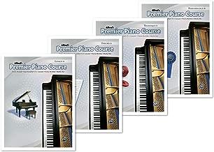 Alfred's Premier Piano Course Level 6 Books Set (4 Books) - Lesson 6, Theory 6, Technique 6, Performance 6