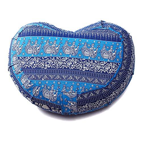 SFGSA Cojin Meditacion Yoga Cubierta en Algodon Lavable Zafu Meditación Cáscara de Trigo Sarraceno Meditation Cushion,7