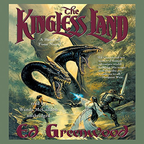 The Kingless Land audiobook cover art