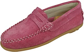 Cool Girls Hadley Chaussures Mocassin en suède Verni pour Bambin Fille Loafer