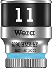 wera 05003726001 8790 HMa HF Zyklop Socket with 1-4 inch Drive with Holding Function, 11.0 mm - Nut Drivers