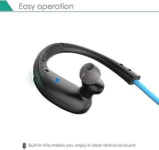 سماعة بلوتوث 4.1 رياضية ماركة Aukey مدمج بها ميكروفون وتقنية CVC 6.0 لمنع الضوضاء