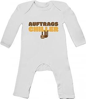 Faultier Sloth Baby Strampler Langarm Schlafanzug Jungen Mädchen Auftrags-Chiller