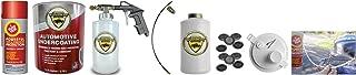Fluid Film & Woolwax 1 Gallon Undercoating Kit Bundle w/PRO Gun. Straw(Clear) Color.