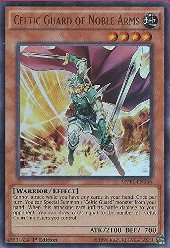 YuGiOh Celtic Guard of Noble Arms - MVP1-EN048 - Ultra Rare - 1st Edition NM ,#G14E6GE4R-GE 4-TEW6W216786