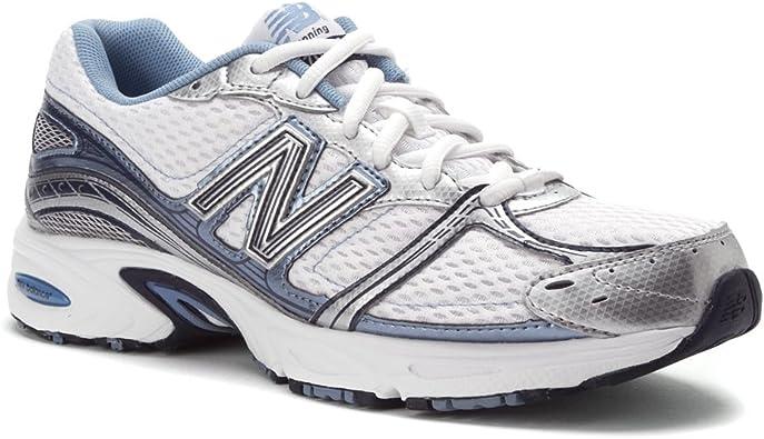 Amazon.com | New Balance 470 Womens Running Shoes, 6D Whiteblue ...