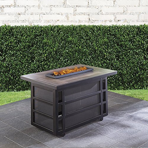Hanover Chateau 30,000 BTU Gas Fire Pit Coffee Table,CHATEAUFP-REC