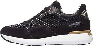 Nero Giardini A909006D Sneakers Montantes Femme en Cuir, Cuir Verni Et Vernis