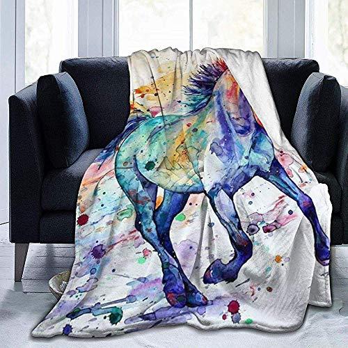 Wobuzhidaoshamingzi flanellen deken met bol van zacht suède