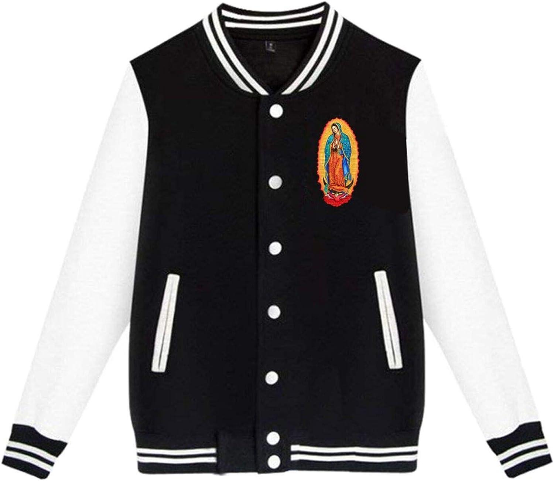 Japan Maker Tucson Mall New The Virgin of Guadalupe Women's Jacket Mens Uniform Baseball Jac