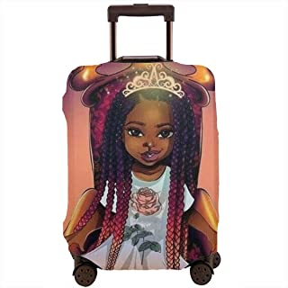 Kaiju God-zilla And Boy Elastic Travel Luggage Cover,Double Print Fashion Washable Suitcase Protective Cover Fit For 18-32 Inch Luggage