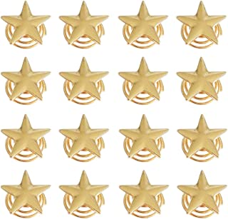 Tvoip 16Pcs Fashion Women and Girls Star Clips Hairpin Spiral Claw Stick Hair Accessories Pins Clips Wedding Bridal Hair Jewelry (Gold)