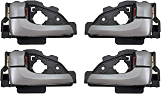 Dorman 92567 Front Painted Silver Rear Driver Side Interior Door Handle for Select Hyundai Models