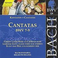Sacred Cantatas Bwv 7-9 by JOHANN SEBASTIAN BACH (1999-07-13)