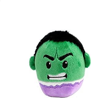 Hallmark Fluffballs Plush Character Ornament, 4 inches (Hulk)