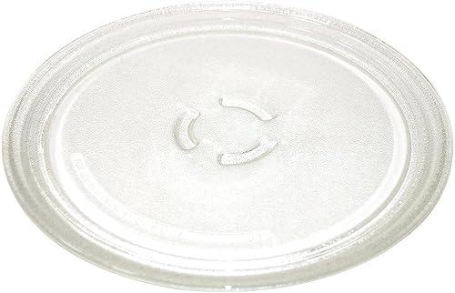 CAREservice Plateau en verre d'origine pour micro-ondes Whirlpool GT281, GT282, GT283, GT284, GT285, GT286, GT287, GT...