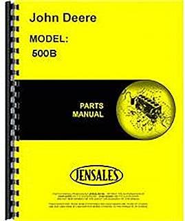 New John Deere 500B Tractor Loader Backhoe Parts Manual