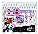 Set cepillo y accesorios de pelo de Minnie Mouse