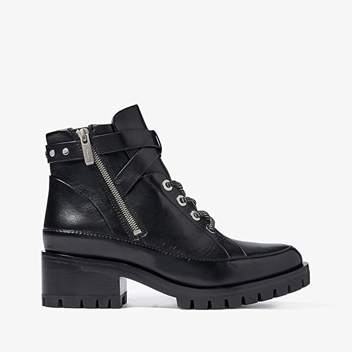 3.1 Phillip Lim  Hayett 50mm Lace-Up Boot (Black) Womens Boots