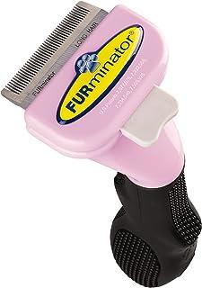 Furminator 102002 DeShedding Brush Comb Tool For Long Hair Small Cats