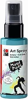 Marabu 120905091 - Spray de Pintura acrílica (50 ml), Color Azul Caribe