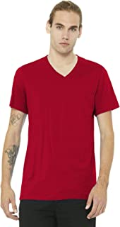 Canvas 3005U Unisex Adult Made in The USA Jersey Short-Sleeve V-Neck Tee