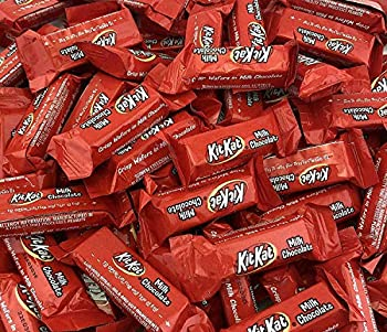 KitKat Miniatures Crisp Wafers in Milk Chocolate Snack Size  Pack of 2 Pounds