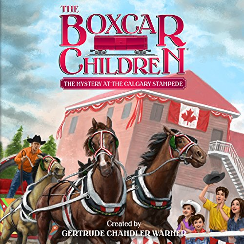 The Mystery at the Calgary Stampede audiobook cover art