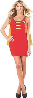 Sponsored Ad - Rubie`s DC Comics Justice League Superhero Style Adult Dress with Cape Robin, Red, Medium Costume