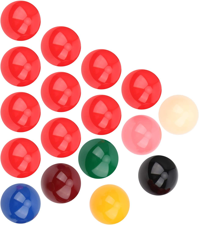 01 Billiard Balls Durable Sports 57.2mm San Francisco Mall sale Boxed Leisure
