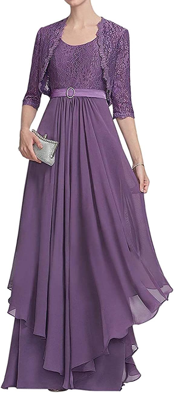 Mother of The Bride Ranking TOP17 Easy-to-use Dresses Long Gowns Jacke Lace Evening Formal