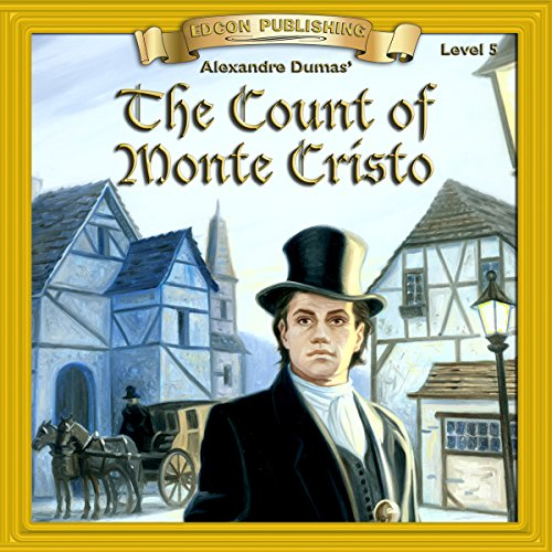 The Count of Monte Cristo audiobook cover art