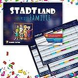 Stadt Land Fluss - Gesellschaftsspiel - Für Kinder, Jugendliche und die Familie - Eummel Edition